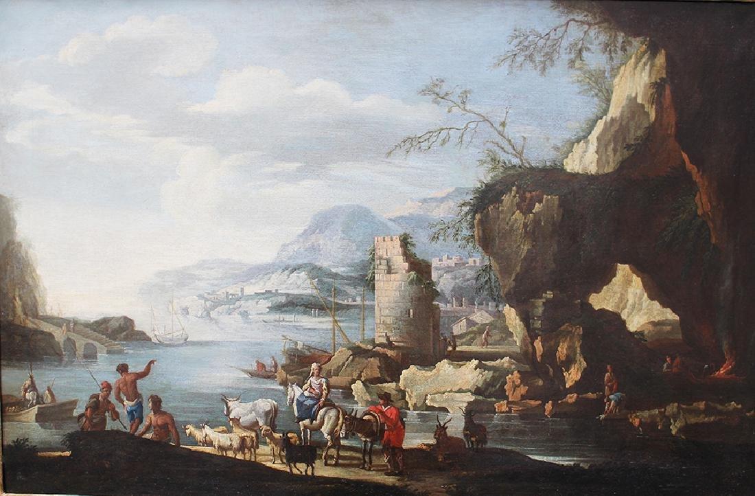 Italian school around 17th century - 2