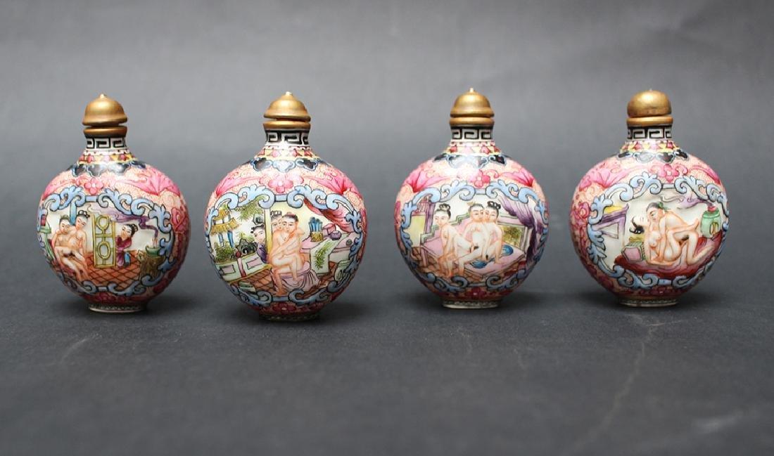 Erotic Snuff Bottle Set
