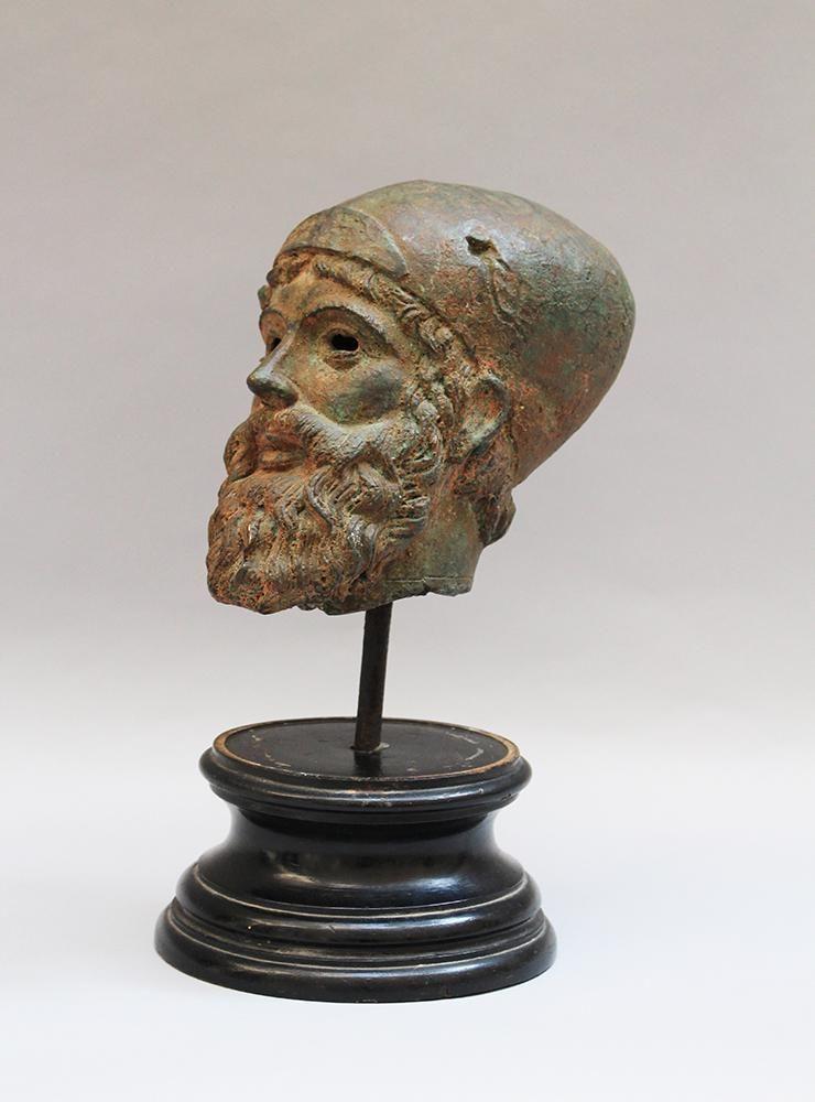 Male Bronze head