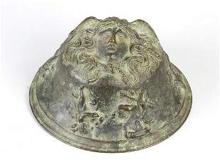 Bronze fitting in Ancient manner