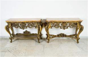 Pair of French Console tables