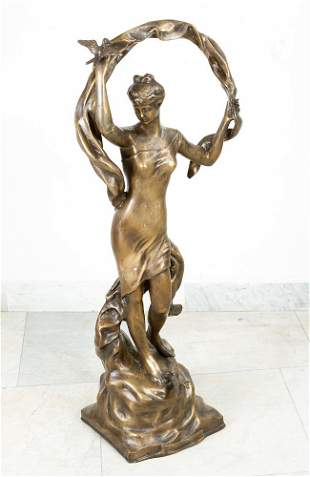 Large bronze sculpture
