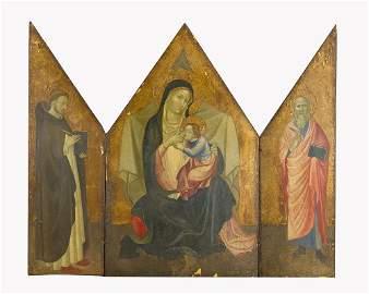 Agnolo Gaddi (1345-1396)-school