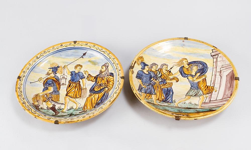Pair of Italian Ceramic Dishes