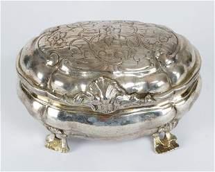 German Baroque Silver Box