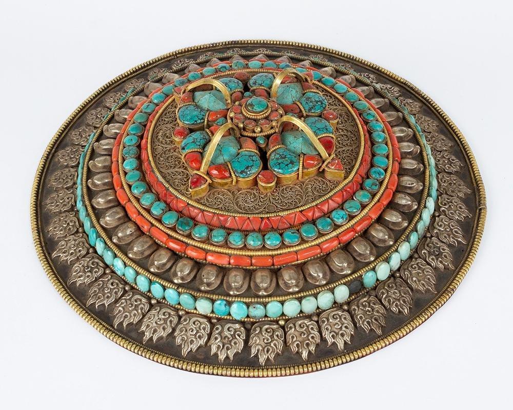 Tibetan Breast Shield