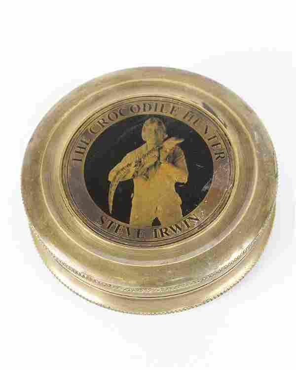 Steve Irwin (1962-2006) compass
