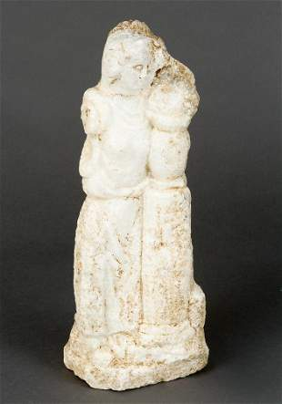 Marble sculpture in ancient manner