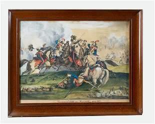 Battle scene Austerlitz