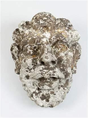 Stone angels head