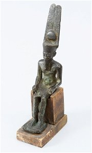 Egyptian bronze sculpture