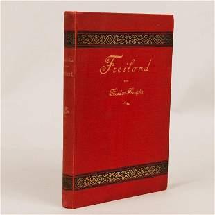 Theodor Hertzka, Freiland, ein soziales Zukunftsbild