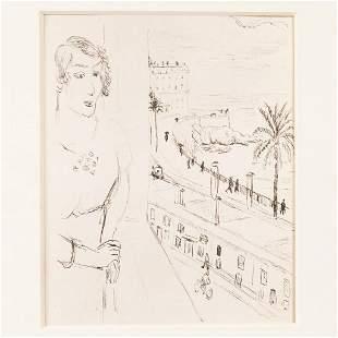 Henri Matisse (1869-1954)-graphic