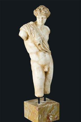 Greek or Italian marble torso