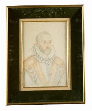 Francois Clouet (1510-1572)-circle