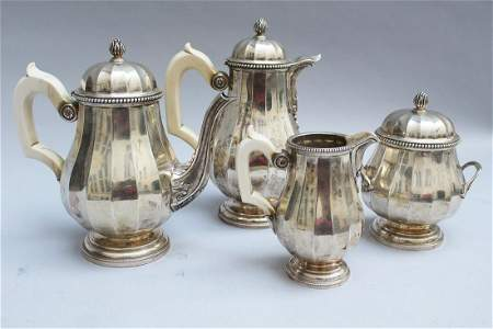 Sterling Silver Tea and coffee set