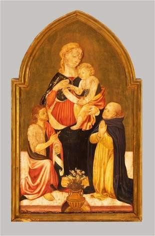 Lorenzo die Pietro (1410-1480)-school