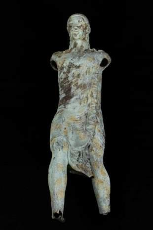 Bronze torso