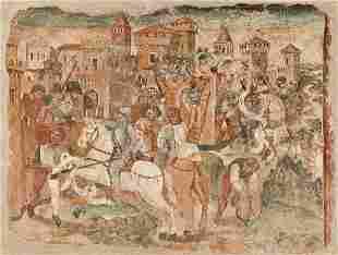 Ambrogio Lorenzetti (1290-1348)-manner