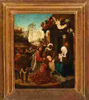 Gerard David (1460-1523)-school