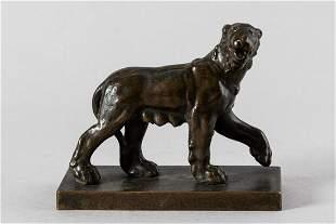 Padovan bronze statue