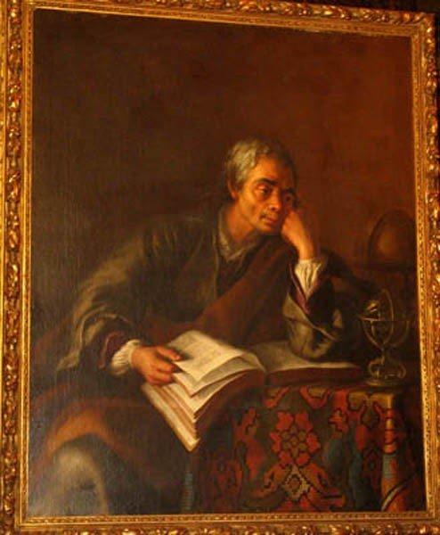 6: Carl van Loo (1705-1765) ,- attributed . Portrait of