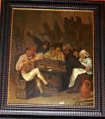 52: Adriaen Brouwer (1605-1638)-follower, funny Drinker