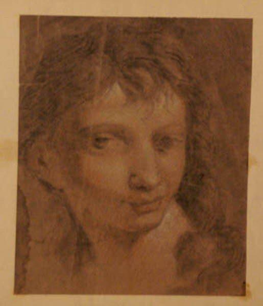 87: Elisabetta Sirani ( 1638-1665)-follower, Study of a
