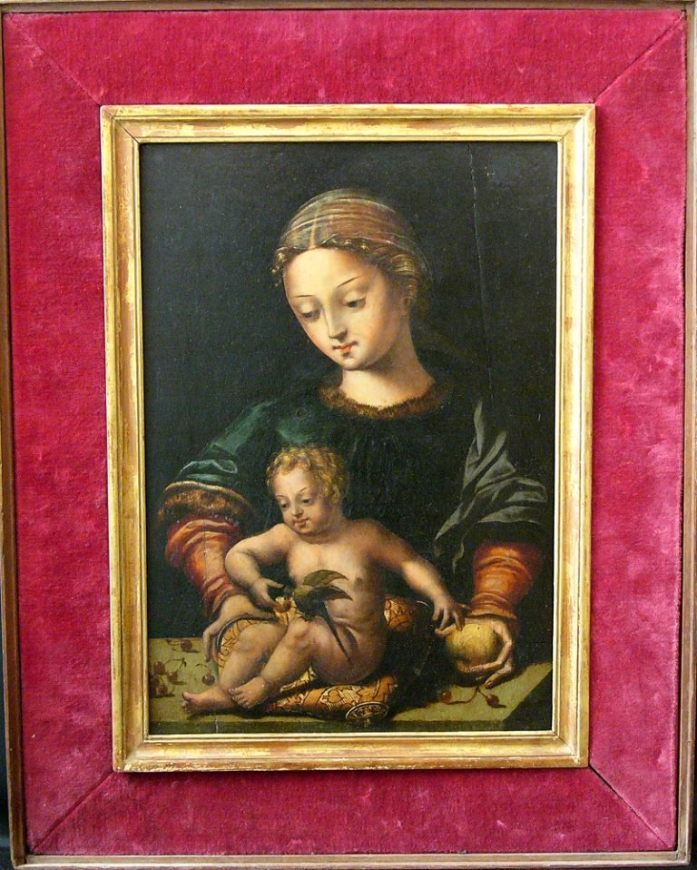 Master of the Parrot (1525-1550)-attributed, Madonna