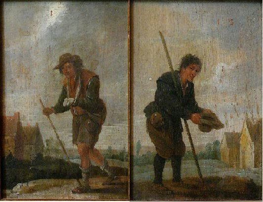 David Teniers the Younger (1610-1690)-attributed, Pair