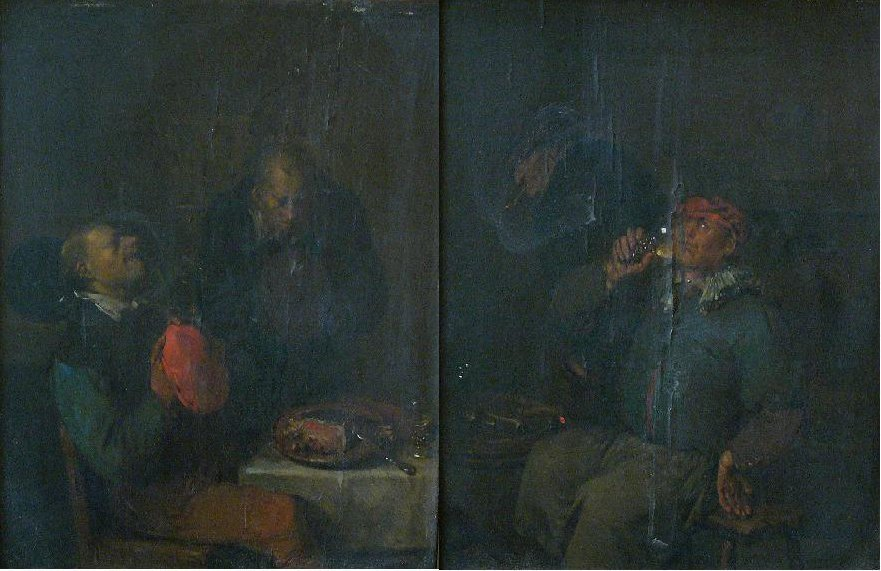 Egbert van Heemskerck (1634-1704), Pair of paintings