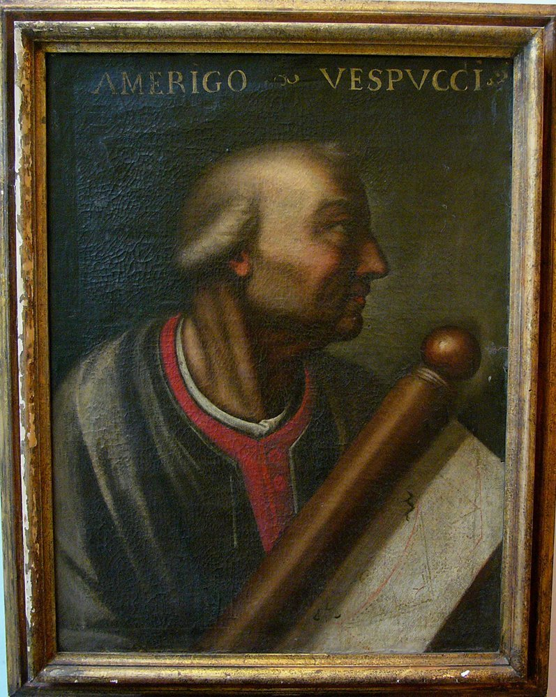 Italian artist 17th Century, Portrait of Amerigo