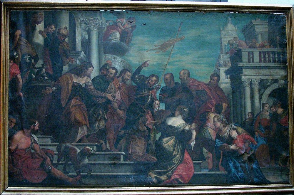 Paolo Veronese (1528-1588)-follower, Monumental
