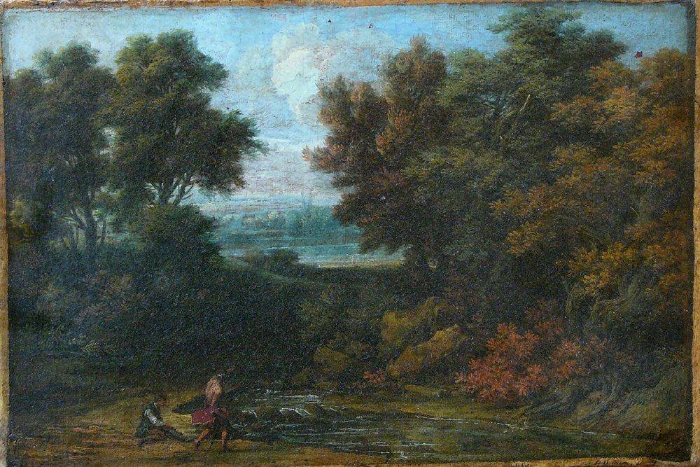 Johann Samuel Hötzendorf (1694-1742), Two men in