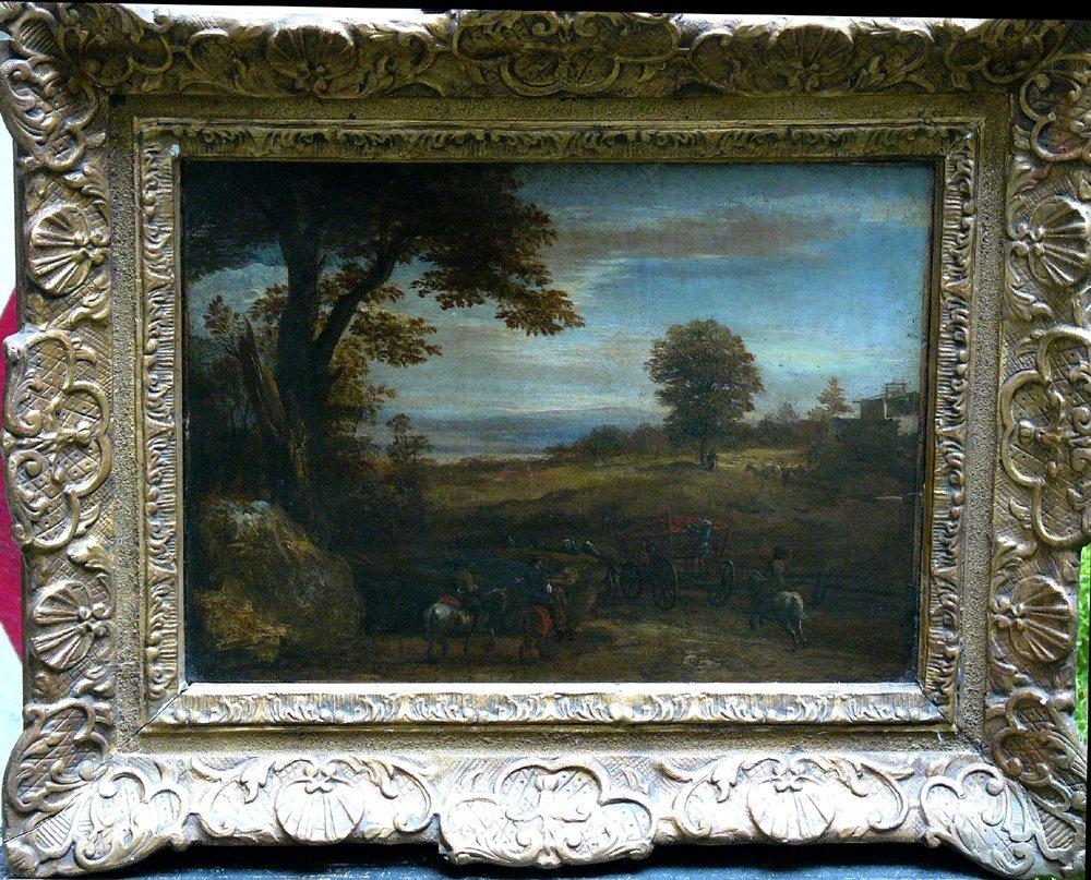 Frederic de Moucheron (1632-1686)-circle, Landscape