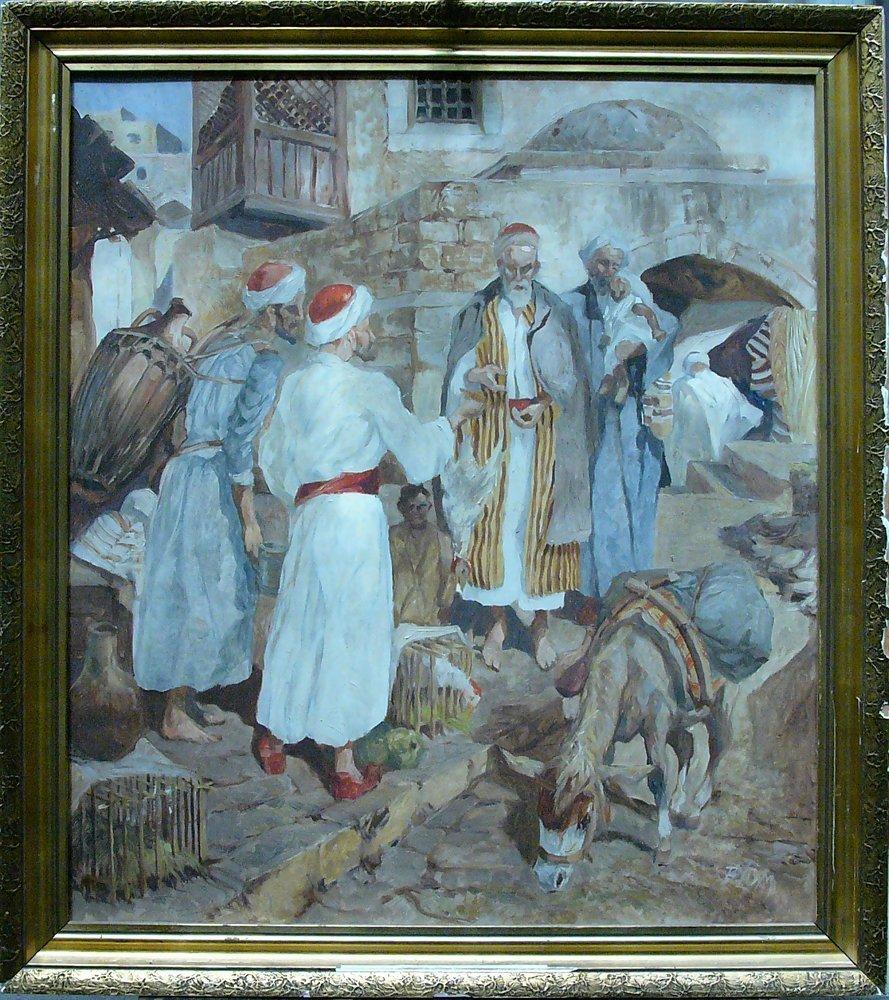 Robert Frederick Blum (1857-1903)-attributed, Oriental
