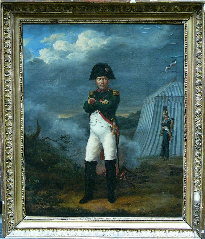 French School early 19th Century, Napoleon in uniform