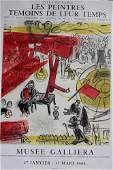 """Marc Chagall (1887-1985), Lithographie on paper, """" Les"""
