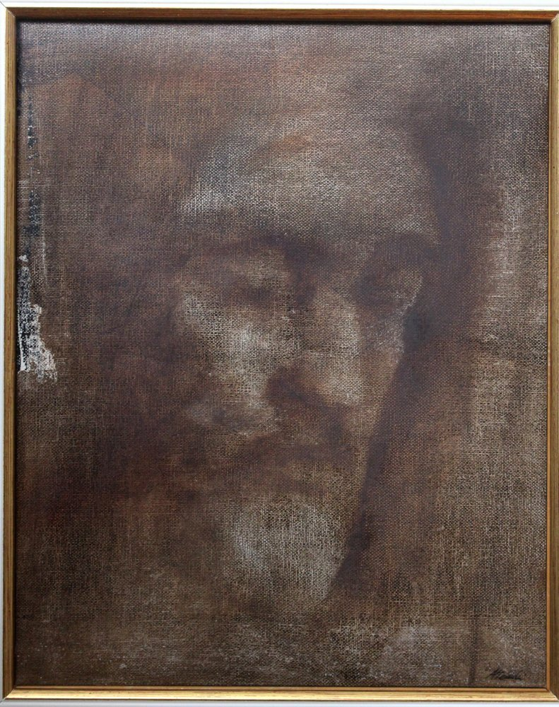 Alessandro Attombri (born 1969), Jesus, oil on canvas. - 2
