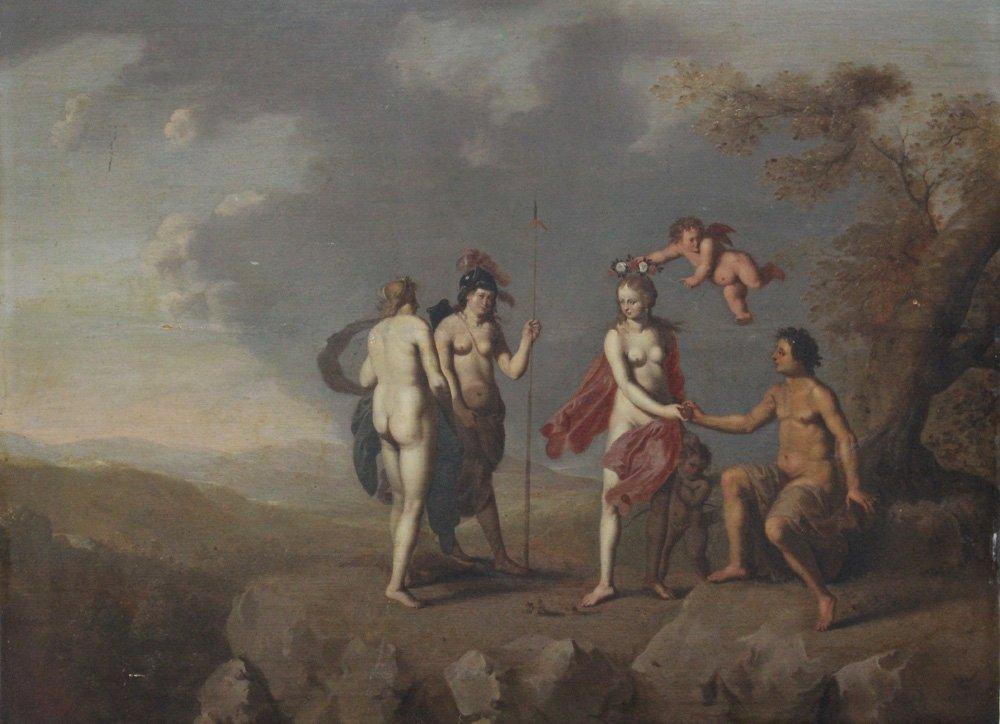 Cornelis van Poelenburgh (1594 – 1667)-circle, Paris an