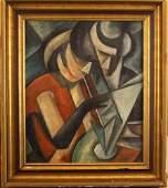 Mikhail Vasilevich Le Dantu ( (1891 – 1917)-attributed,