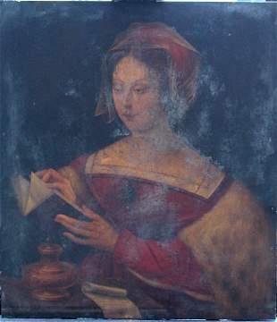 Master of the Female Half-Length-manner of, Portrait of