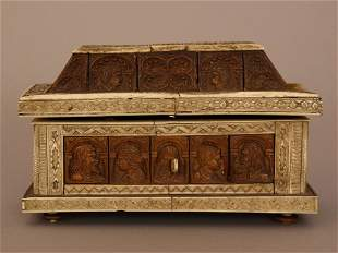 Casket in medieval manner, in the style of the