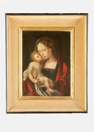 Jan Gossaert Mabuse (1478-1532)-circle, Maria with