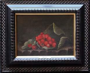 Adriaen Coorte (1665-1707)-follower, Still life with