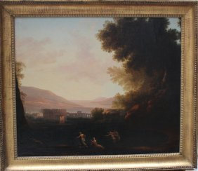 Thomas Jones (1742-1803)-circle, Italiante Landscape
