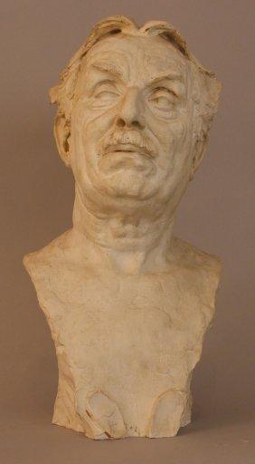 Gustinus Ambrosi (1893-1975), Bust Portrait Of Cuno