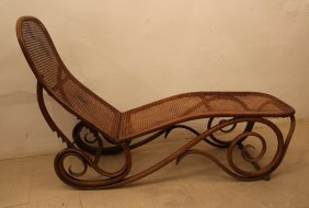 Thonet Daybed Adjustable And Hinged, Sit And Back With