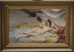Paul Francois Quinsac (1858-1929), Naked beauty with
