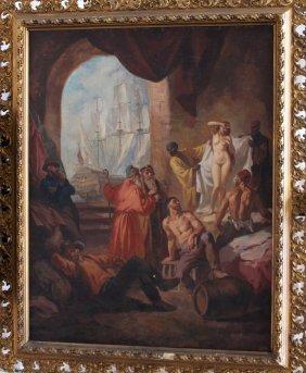 Mozart Rottmann (1874-1958)-attributed, Slave Market,